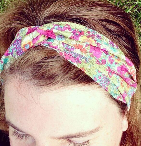 Workshop – Learn to Make a Floral Turban Headband